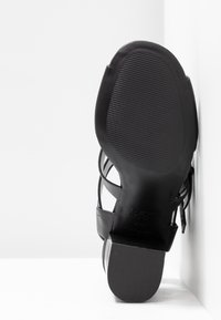 New Look - PENG - Sandály na vysokém podpatku - black - 6