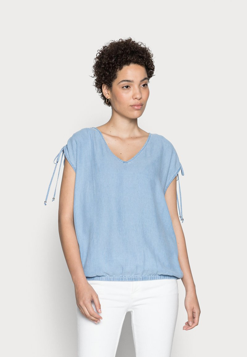 s.Oliver - Blouse - blue lagoon
