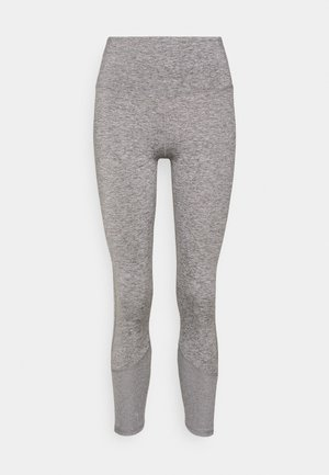 LINED - Tights - mid grey marle