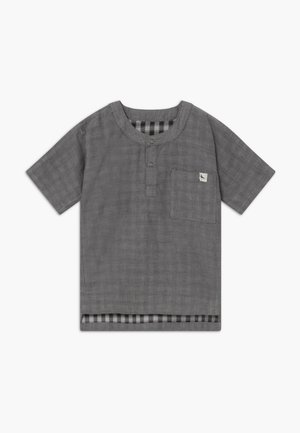 REVERSIBLE CHECK BABY  - Blusa - dark grey