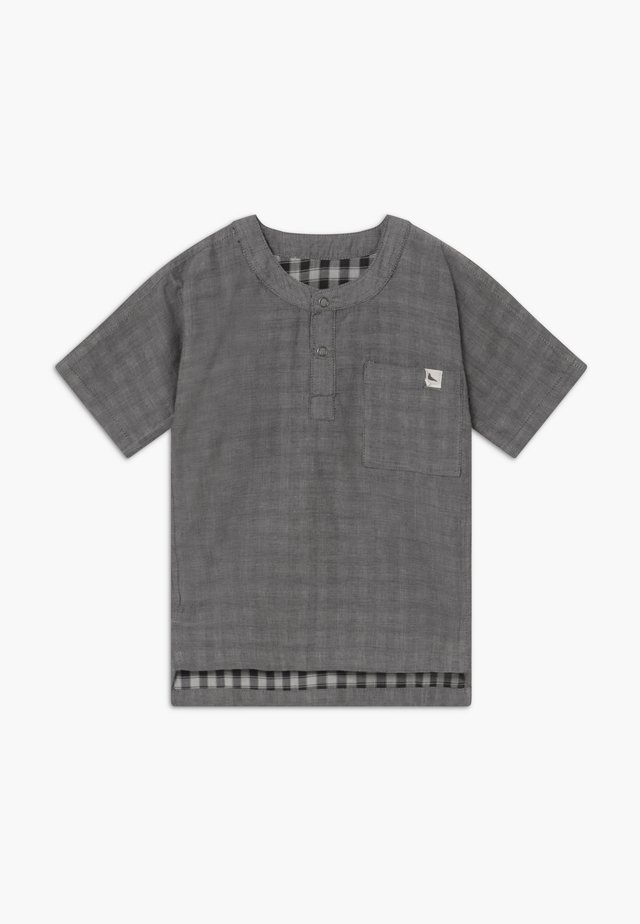 REVERSIBLE CHECK BABY  - Blouse - dark grey