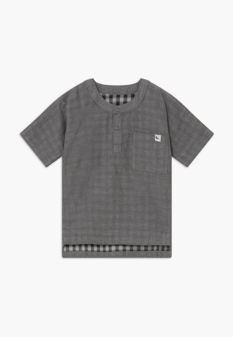 Turtledove - REVERSIBLE CHECK BABY  - Blusa - dark grey
