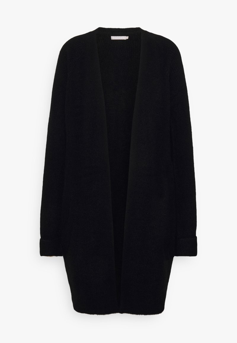 PIECES Tall - PCELLEN LONG - Cardigan - black