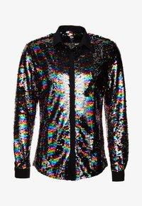 Twisted Tailor - PRIDE LIQUORICE SHIRT EXCLUSIVE - Vapaa-ajan kauluspaita - rainbow - 5