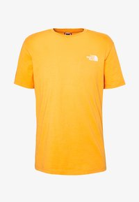 The North Face - MENS SIMPLE DOME TEE - T-shirt basic - flame orange - 3