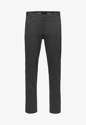 FLEX FIT HOSE SLIM FIT - Chino kalhoty - dark grey