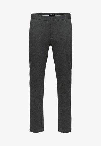FLEX FIT HOSE SLIM FIT - Pantalones chinos - dark grey