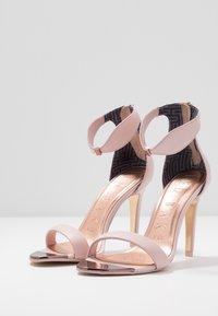Ted Baker - AURELIL - Sandály na vysokém podpatku - nude/pink - 4