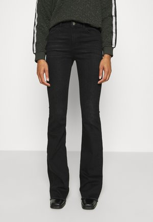 BEAT  - Jeansy Bootcut - black