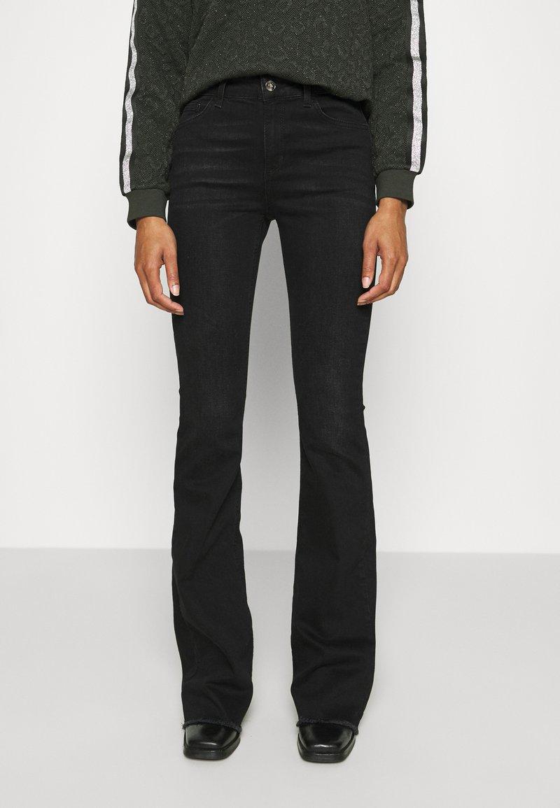 Liu Jo Jeans - BEAT  - Vaqueros bootcut - black