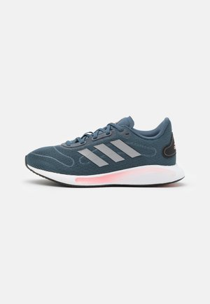GALAXAR RUN - Zapatillas de running neutras - legend blue/metallic silver/glow pink