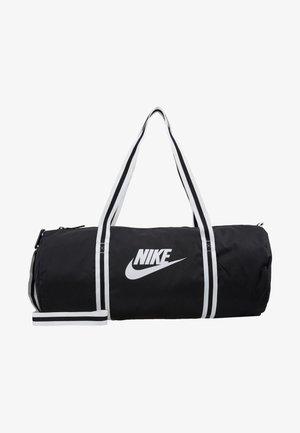 HERITAGE UNISEX - Sportovní taška - black/white