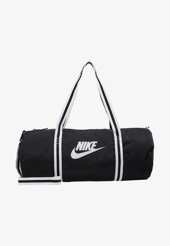 HERITAGE UNISEX - Sports bag - black/white