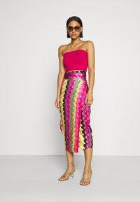 Never Fully Dressed - SUMMER RAINBOW JASPRE - Wrap skirt - multi - 4