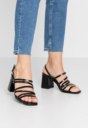 ONLAMANDA STRING HEELED  - Sandaler - black