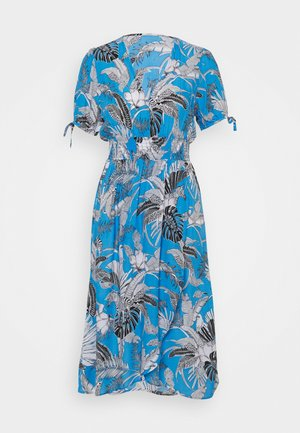 TULUM BEACH DRESS - Beach accessory - blue