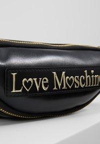 Love Moschino - Bum bag - black - 6