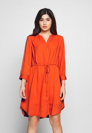 SLFDAMINA DRESS - Day dress - orange