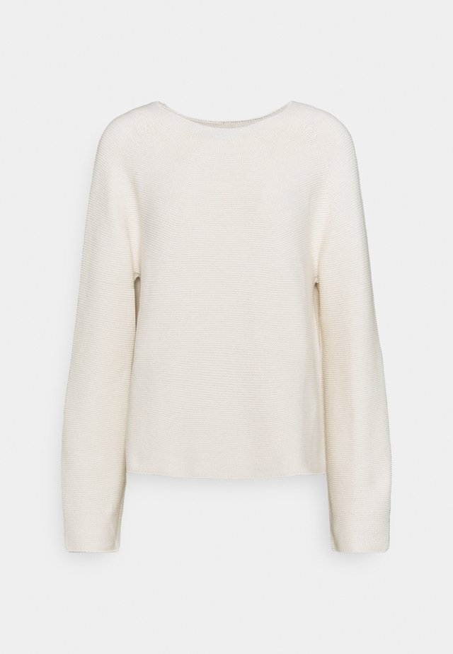 LONG SLEEVE - Maglione - raw cream