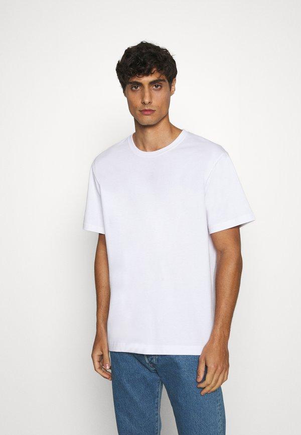 ARKET T-shirt basic - white light/biały Odzież Męska IZRK