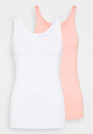 Undershirt - white, nude
