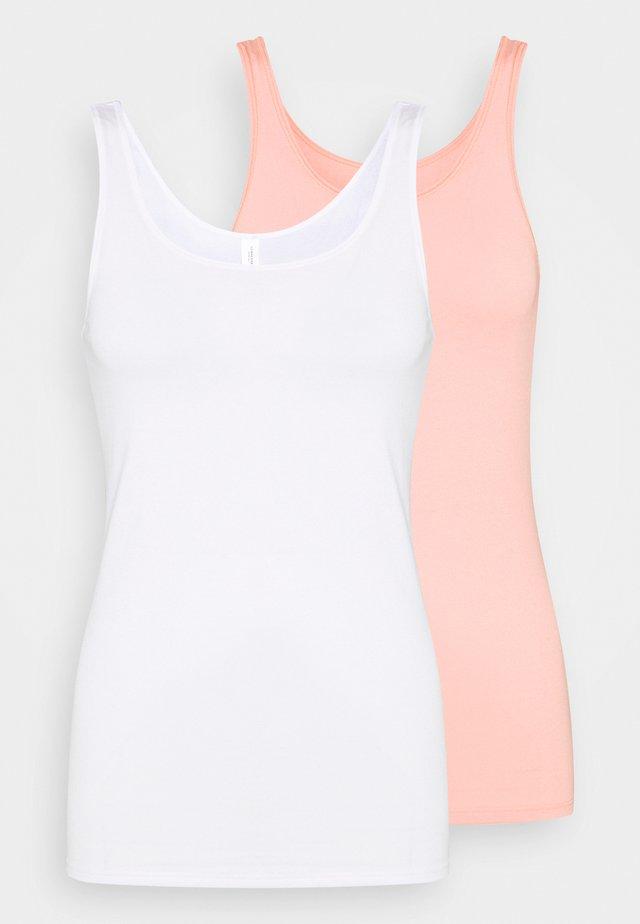 Unterhemd/-shirt - white, nude