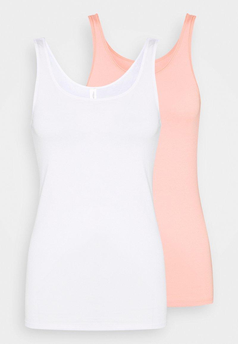 Schiesser - Undershirt - white, nude