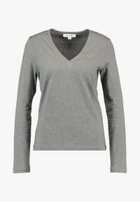 Lacoste - V-NECK - Långärmad tröja - stone chine - 3