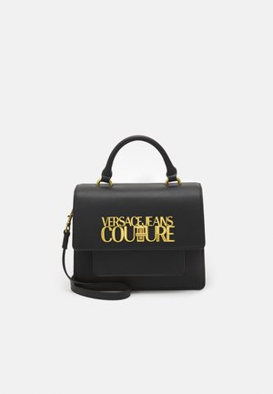 LOGOLOCK TOP HANDLE - Handbag - nero