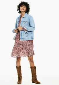 Garcia - Shirt dress - fiery pink - 1
