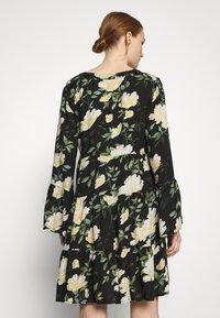 ONLY - ONLFAYE SHORT DRESS  - Shirt dress - black/cloud dance - 2