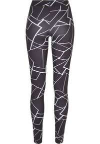 Urban Classics - Leggingsit - geometric black - 4
