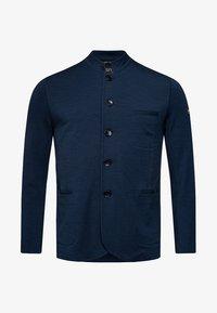 super.natural - WENGER - Zip-up hoodie - dark blue - 1