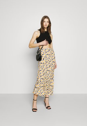 ALL DAY SLIP SKIRT - A-line skirt - black