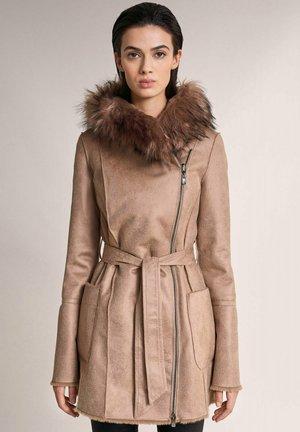 Winter coat - beige_9183