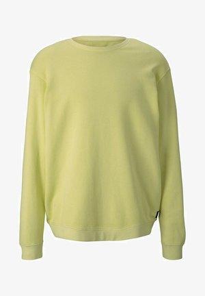 Sweatshirt - cream yellow