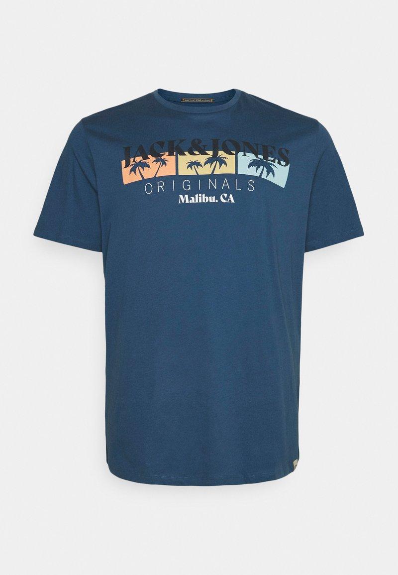Jack & Jones - JORCABANA TEE CREW NECK - Print T-shirt - ensign blue
