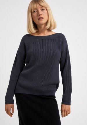 Sweater - natural indigo