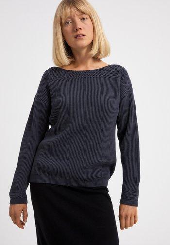 Sweatshirt - natural indigo