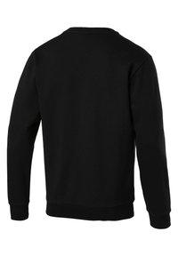 Puma - ESS LOGO CREW - Sweatshirts - black - 1