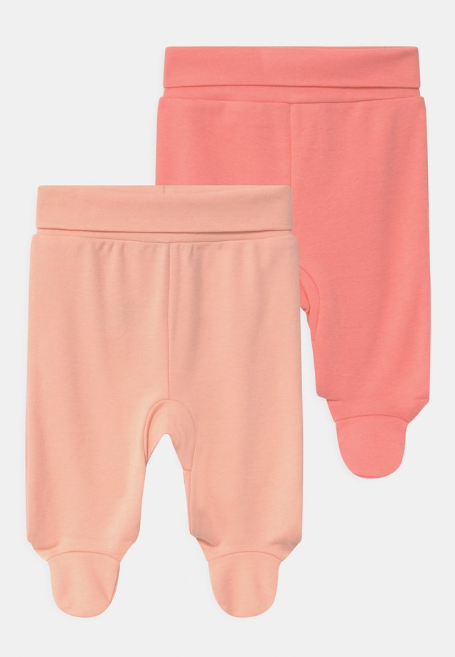 GIRLS 2 PACK - Kangashousut - light pink/pink