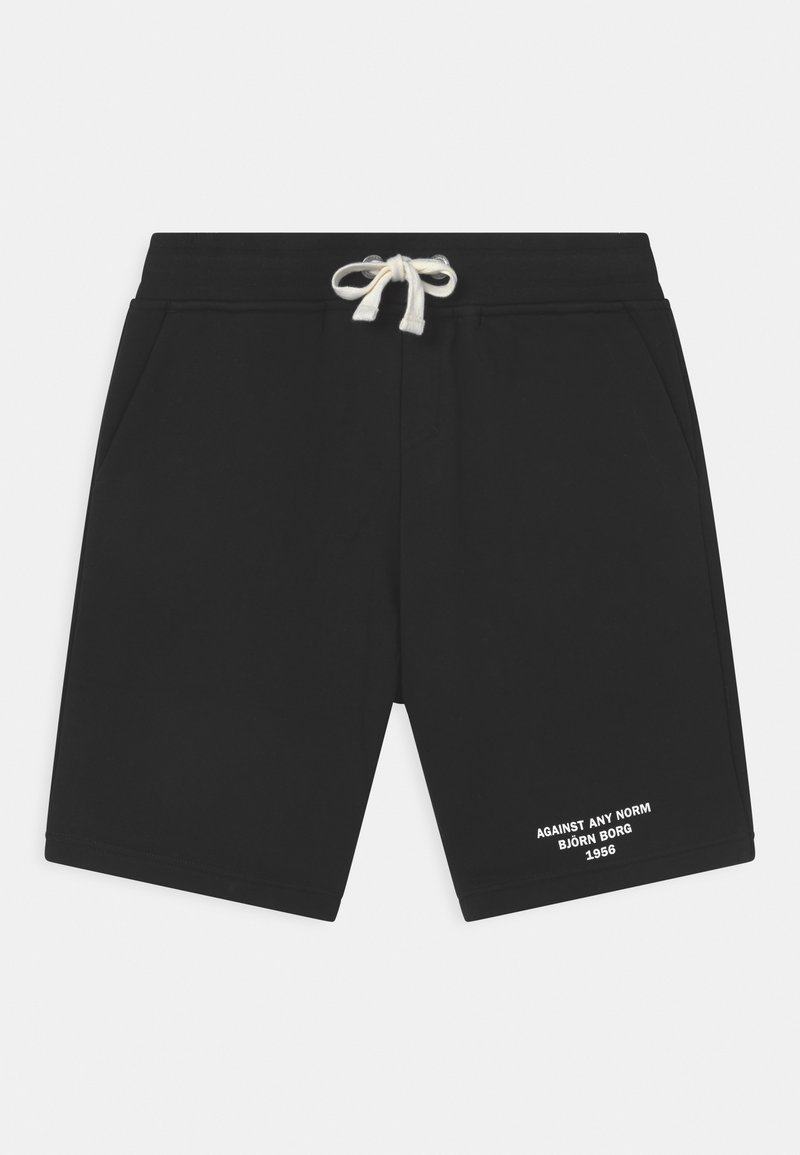 Björn Borg - SPORT UNISEX - Sports shorts - black beauty