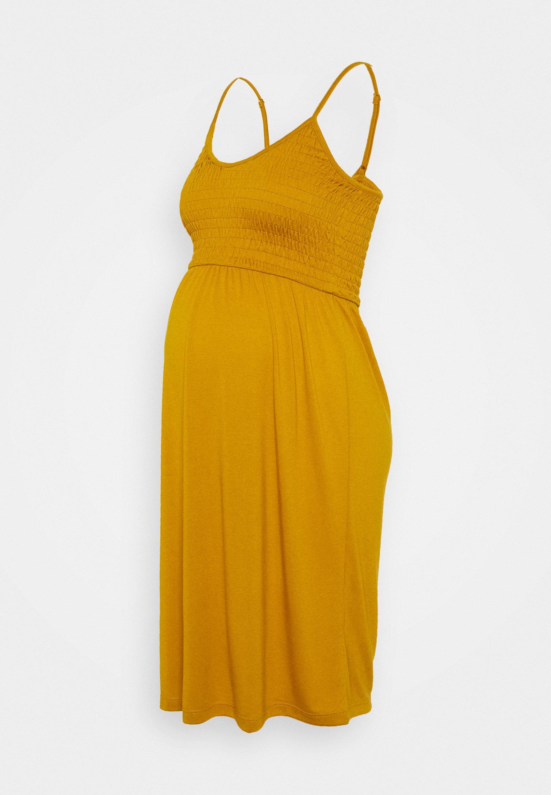 Damen MLSILLE SMOCK DRESS - Jerseykleid