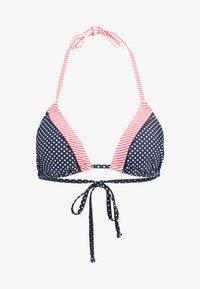 s.Oliver - Bikini top - navy/white - 4