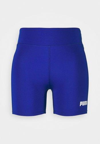 PAMELA REIF X PUMA MID WAIST SHORT - Leggings - mazerine blue