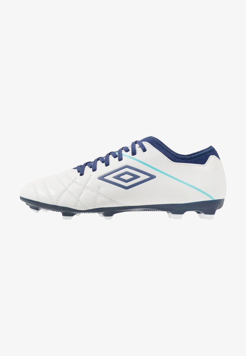 Umbro - MEDUSÆ III CLUB FG - Astro turf trainers - white/medieval blue/blue radiance