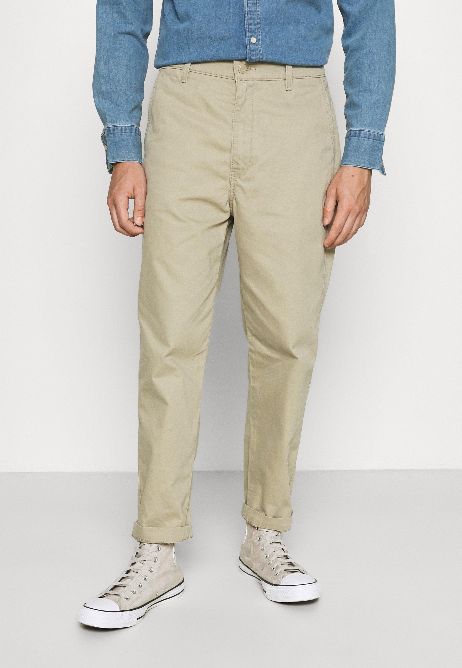 Men XX STAY LOOSE TAPER CROP - Trousers