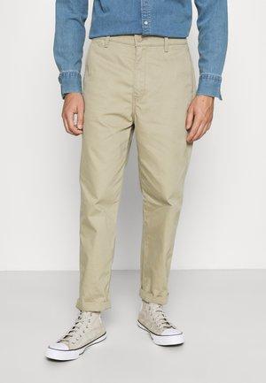 XX STAY LOOSE TAPER CROP - Trousers - beige