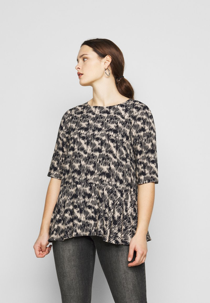 ONLY Carmakoma - CARGRAP - Blouse - cement