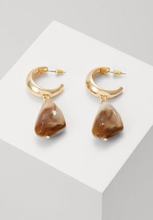 HOOP DROP - Earrings - gold-coloured